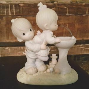 """Precious Moments Figurine """"Your Love Is So Uplifti"""